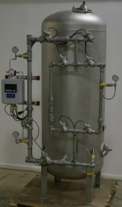 Stainless Steel Condensate Polisher by Res-Kem Corp.