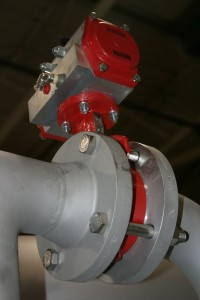 Stainless Bray butterfly valves used on Res-Kem Corp's 304L Stainless Steel Condensate Polisher