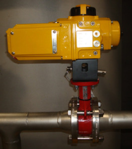 Bray butterfly valves with Emerson Field Q Pneumatic actuators for Res-Kem Condensate Polisher