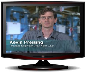 Res-Kem Process Engineer Kevin Preising