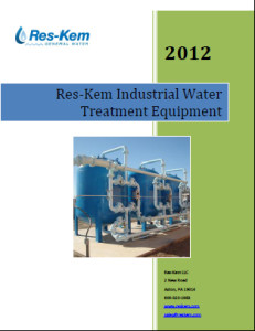The Reskem Catalog for Industrial Water Treatment Equipment
