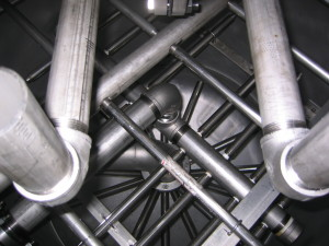 Condensate Polisher Internal Components in 316 L Stainless Steel from Res-Kem