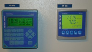 770MAX and M300 Thornton Meters Installed in a Customer's Water Treatment Plant