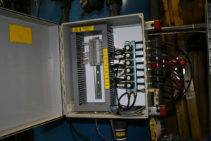 Typical Solenoid Panel WITHOUT Limit Switch Terminations