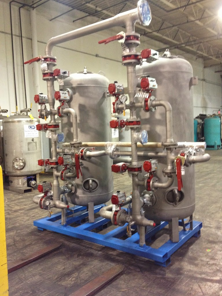 Dual Skid-Mounted Condensate Polisher for District Heating Plant in Michigan